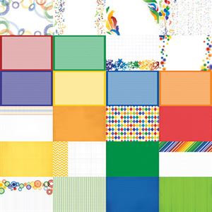 Picture of Playful Primary Designer Journal/Mounting Cards