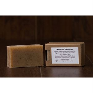 Picture of Lavender Comfrey Bar Soap